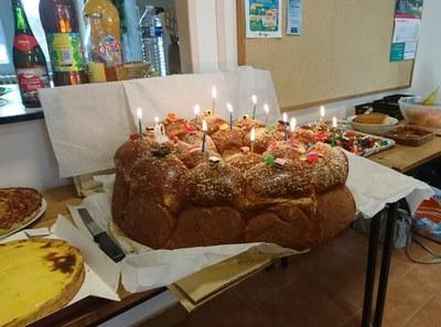 7. le gâteau d'anniversaire