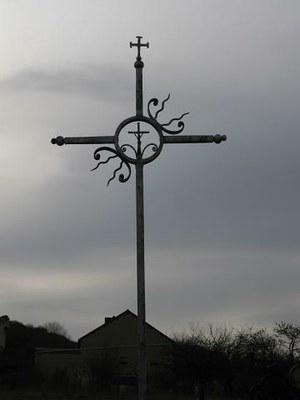 Croix Collibeaux, cimetière de Champvallon