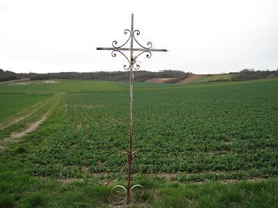 Croix de Sainte Rosalie, Les Branches, Champvallon