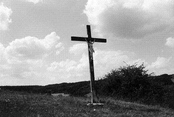 Croix JAC, Les Bussières, Champvallon