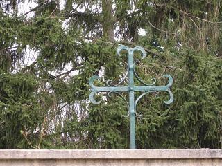 Croix Saint Louis à Champvallon (propriété privée)