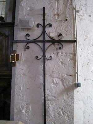 Croix Sainte Reine - Sainte Catherine, église de Fleury