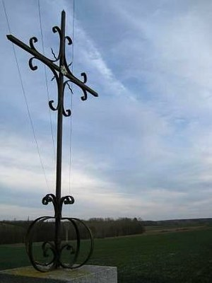Croix de la Sainte Trinité, Ferme d'Arblay, Neuilly
