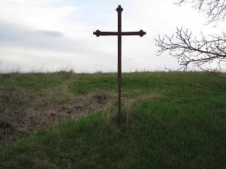 Croix de Saint Edme, route de Bassou, Villemer