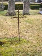 Croix tombale du cimetière de Neuilly