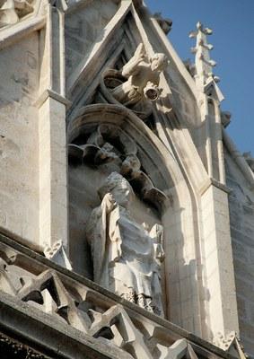 Saint-Germain, cathédrale d'Auxerre © Patrice Wahlen
